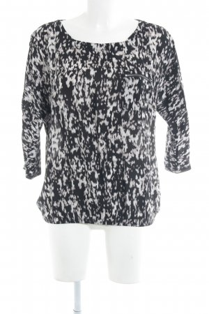 Tom Tailor Langarm-Bluse Leomuster Casual-Look