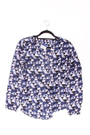 Tom Tailor Long Sleeve Blouse blue-neon blue-dark blue-azure viscose