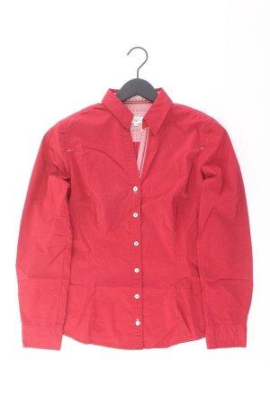 Tom Tailor Langarmbluse Größe 38 rot aus Baumwolle