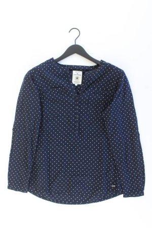 Tom Tailor Langarmbluse Größe 40 blau aus Baumwolle
