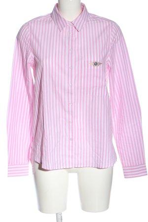 Tom Tailor Langarmhemd pink-weiß Streifenmuster Business-Look