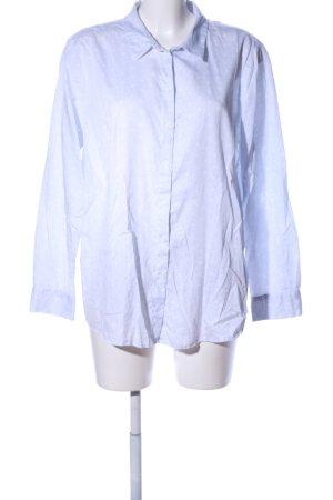 Tom Tailor Langarmhemd blau-weiß Punktemuster Business-Look