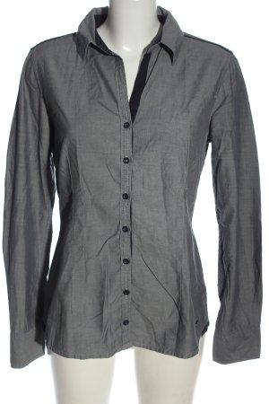 Tom Tailor Langarmhemd hellgrau Business-Look