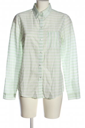 Tom Tailor Langarmhemd grün Streifenmuster Casual-Look