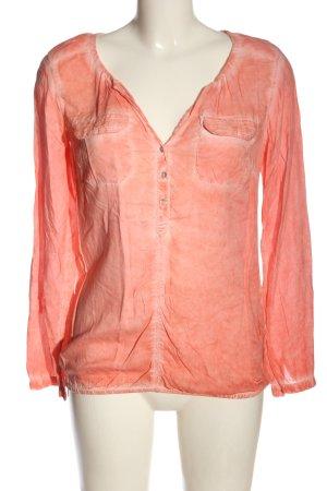 Tom Tailor Langarmhemd pink Street-Fashion-Look