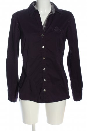 Tom Tailor Langarmhemd lila Casual-Look