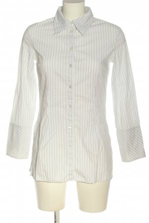 Tom Tailor Long Sleeve Shirt white striped pattern business style