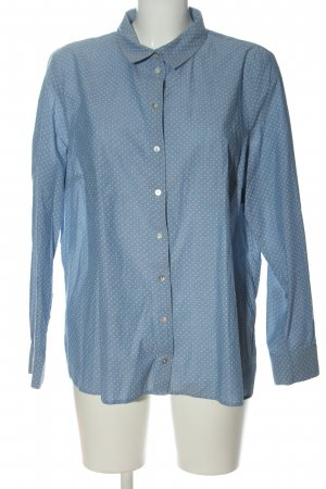 Tom Tailor Langarmhemd blau Punktemuster Business-Look