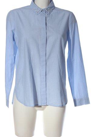 Tom Tailor Langarmhemd blau Business-Look
