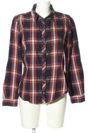 Tom Tailor Langarmhemd Karomuster Casual-Look