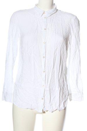 Tom Tailor Langarmhemd weiß Casual-Look