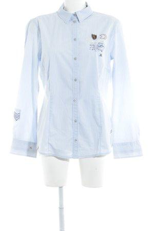 Tom Tailor Langarmhemd himmelblau Streifenmuster Business-Look