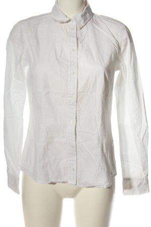 Tom Tailor Camicia a maniche lunghe bianco stile professionale