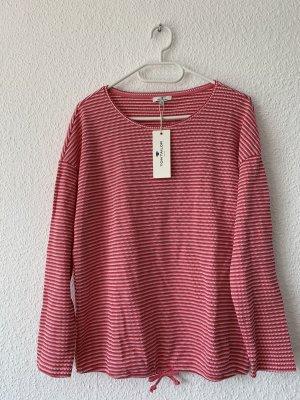Tom Tailor Camicia maglia rosa-bianco