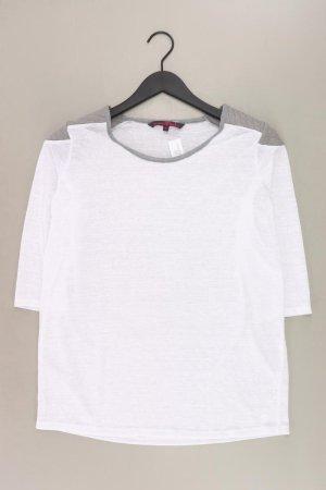 Tom Tailor Langarmshirt Größe L 3/4 Ärmel grau