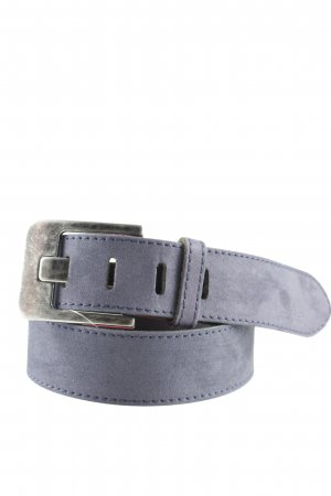 Tom Tailor Leather Belt blue casual look