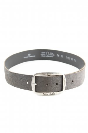 Tom Tailor Leather Belt brown casual look