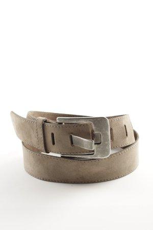 Tom Tailor Ledergürtel bronzefarben Casual-Look