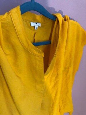 Tom Tailor leichtes Blusenshirt in sonnengelb Gr. 38 kostenloser Versand 53% Viskose 47% Polyamid