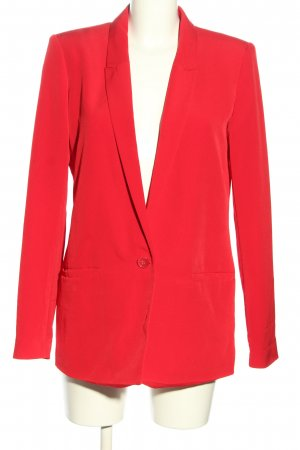 Tom Tailor Long-Blazer rot Casual-Look