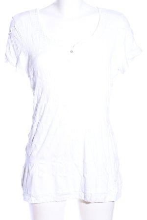 Tom Tailor Longshirt weiß Casual-Look