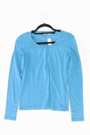 Tom Tailor Longsleeve-Shirt Größe L Langarm blau aus Baumwolle