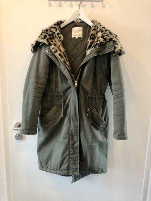 Tom tailor Mantel Leopard / Khaki