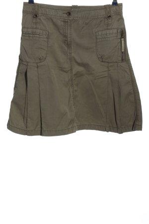Tom Tailor Miniskirt khaki casual look