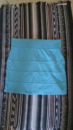Tom Tailor Miniskirt neon blue