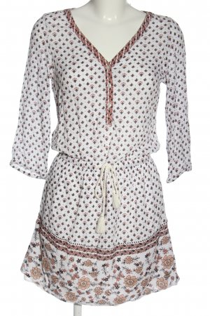 Tom Tailor Mini Dress white-brown casual look