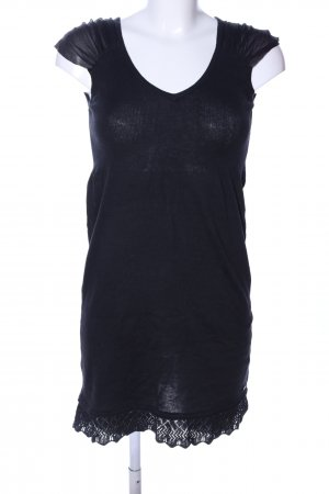 Tom Tailor Minikleid schwarz Casual-Look