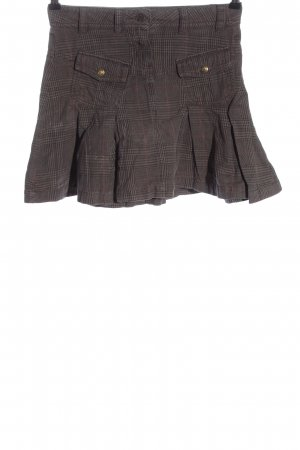 Tom Tailor Miniskirt brown-pink allover print casual look