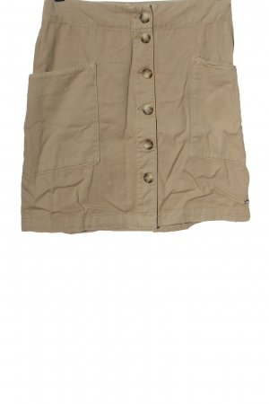 Tom Tailor Miniskirt nude striped pattern casual look