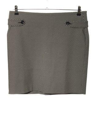 Tom Tailor Miniskirt black-white allover print casual look