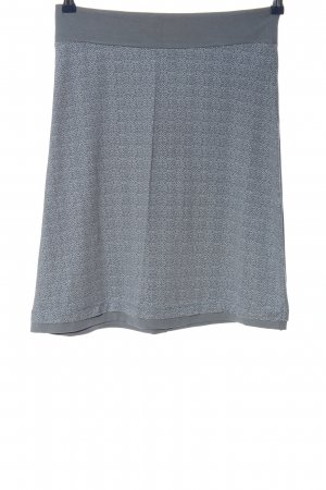 Tom Tailor Miniskirt light grey abstract pattern casual look