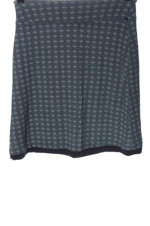 Tom Tailor Miniskirt blue-white allover print casual look