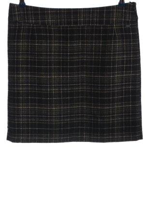 Tom Tailor Miniskirt black-light grey check pattern casual look