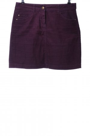 Tom Tailor Minirock lila Casual-Look