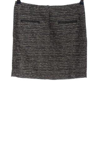 Tom Tailor Minirock braun-schwarz Casual-Look