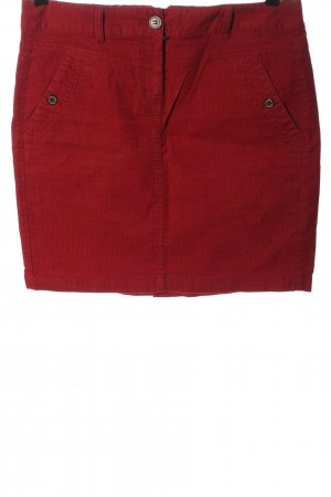 Tom Tailor Minirock rot Casual-Look