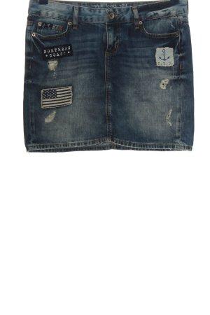Tom Tailor Miniskirt blue casual look