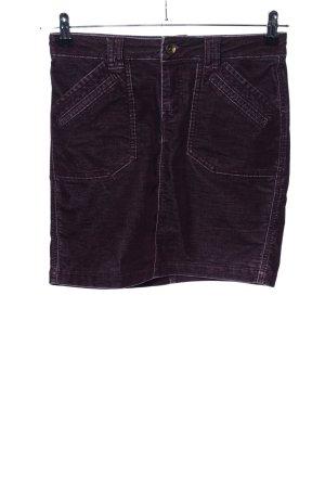 Tom Tailor Miniskirt black-lilac casual look