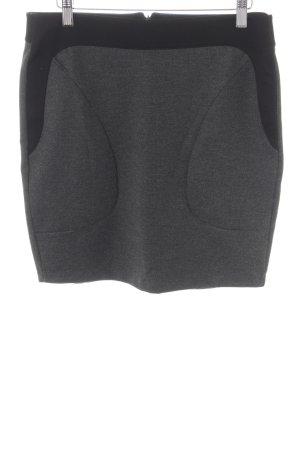 Tom Tailor Miniskirt black-dark grey casual look