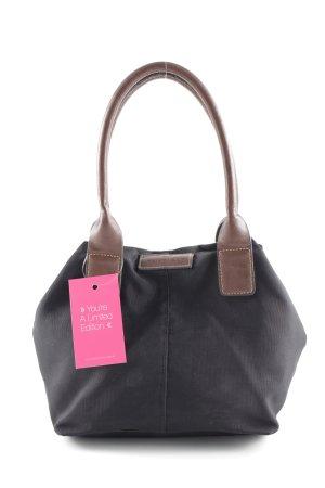 Tom Tailor Minitasche schwarz-braun schlichter Stil