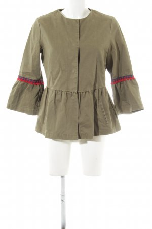 Tom Tailor Outdoorjacke khaki Mustermix Casual-Look