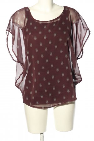 Tom Tailor Oversized Bluse Punktemuster Casual-Look