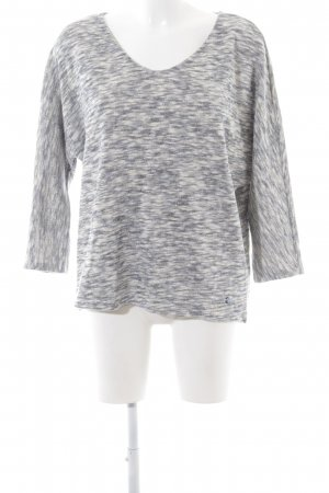 Tom Tailor Oversized Pullover hellgrau meliert Casual-Look