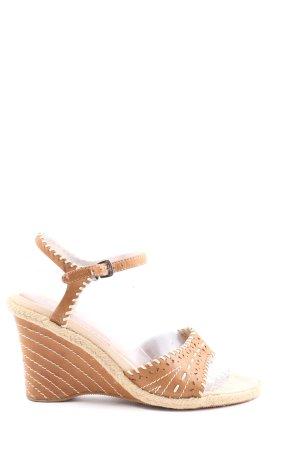 Tom Tailor Platform Sandals brown elegant