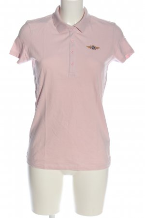 Tom Tailor Polo-Shirt pink Casual-Look