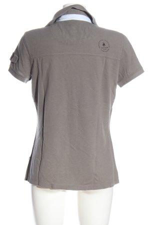 Tom Tailor Polo-Shirt meliert Casual-Look
